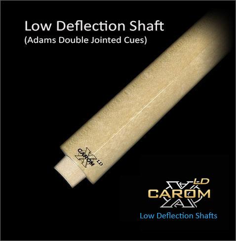Tiger Carom-X LD Wood to Wood CSH-LD Pool Cue Shaft w //FREE Shipping