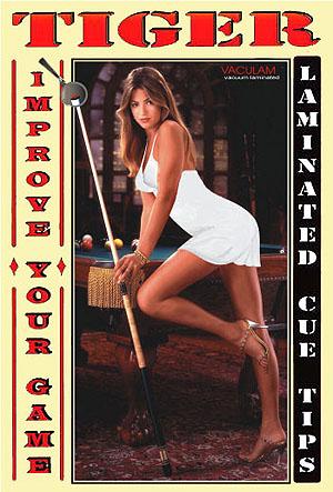 """Tiger Girl"" Poster"